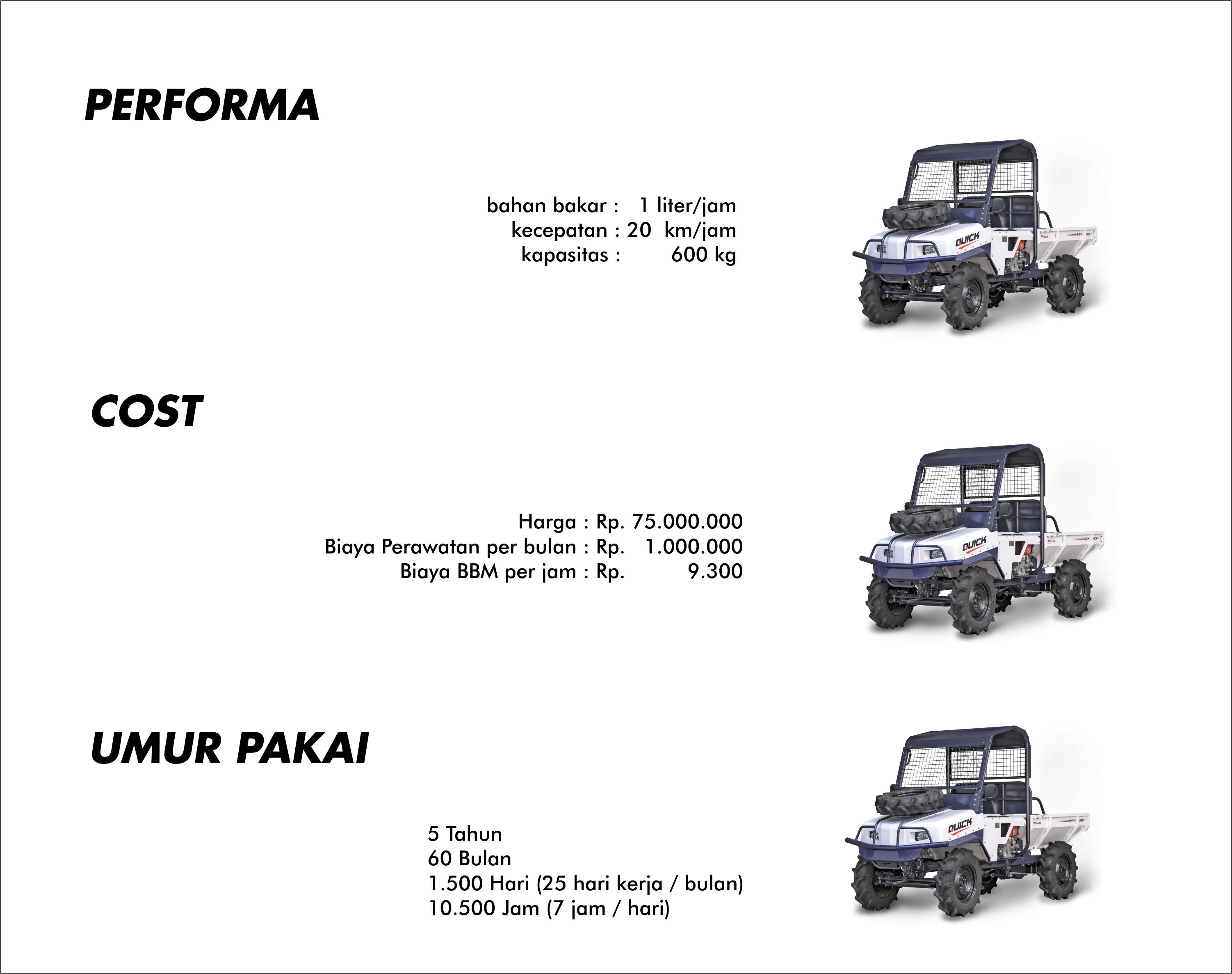Quick Truck Biaya Murah